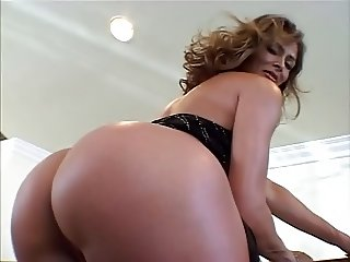 Sexy Colombian Cougar Monique enjoys a Hard Interracial Fuck