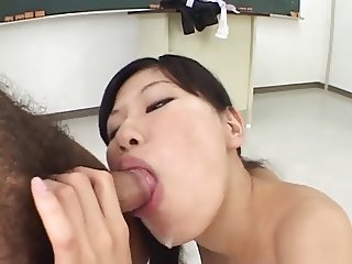 FH-16 Gagging Cum Cleaners - Asian Deepthroat