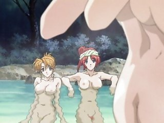 Anime virgin girl fucked in ski camp