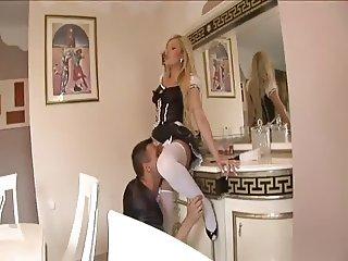 Naughty Blonde Maid Anal