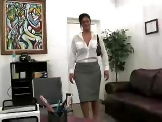 Busty Secretary Fucked In The Office