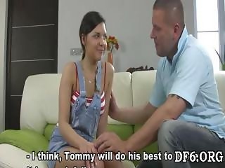 First-timer meets a cock