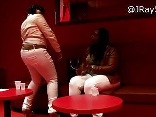 Booty in The Club - Plush BBW White Jeans -=JRay513=-