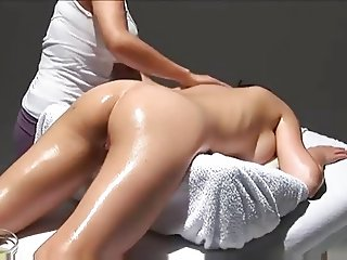 Multi Orgasmic Erotic Massage with oil.