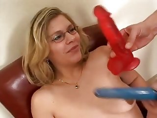 Mature hardcore anal and big cum on face