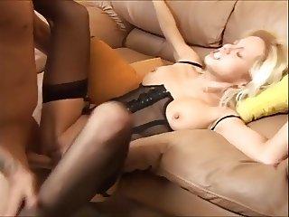 mature pussy in nylon