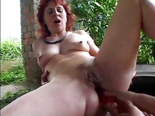 SEXY MOM n78 redhead mature anal
