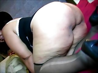 Hot face and massive butt