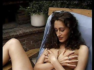 european brunette gardenfuck