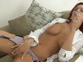 Smoking Fetish - Jayden smoking and masturbating
