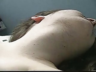 Melody, hairy 22 yo chick squirts