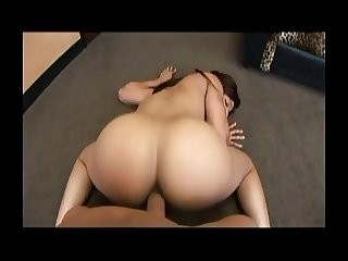 Black Butt Gets Fucked