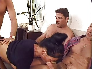 4 European Buddies Fuck the Housekeeper (FYFF))