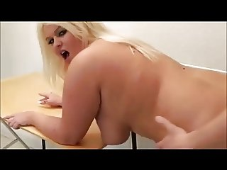 Very Hot Blonde BBW