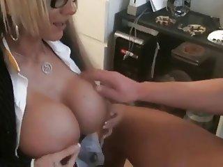 Creampie for nasty secretary