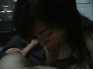 Paula from argentina blowing and swallowing cum