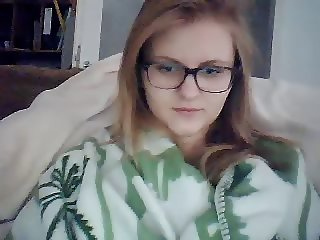 hot teen with glasses