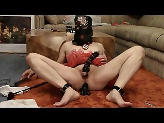 Sissy Pussyboy CBT Punishment Ordered by Mistress Donna