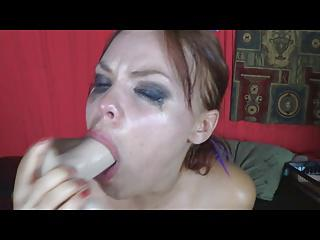 Daddy's gagging slut