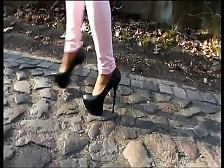 LGH - Tamia High Heels Walk extrem