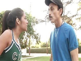 Naughty Cheerleader Fucked