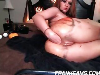 Nice dildo solo with Roxy (part 2)