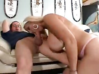 Spanish Mature and young Boy