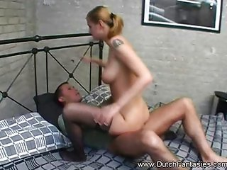 Dutch model fucked hard