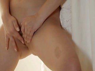 Redhead Finger Masturbation