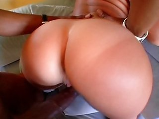 Velicity Von - Big White Butt Lingerie Show