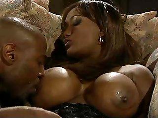 Busty Ebony Dominique Simone