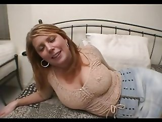 blonde busty milf anal fucked hard at home
