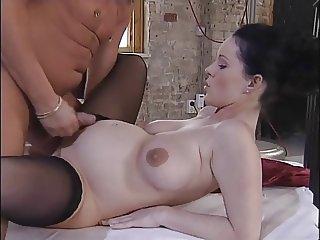 Busty Pregnant Beauty fucked