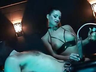 Latex Fetish Mistress & her Slave