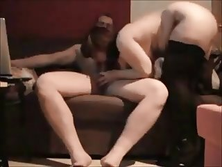 Curvy wife ass fucked on homemade