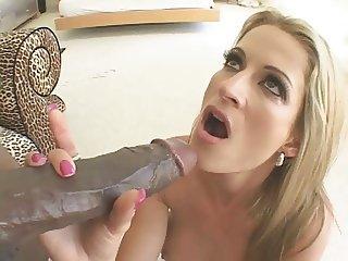 HUGE BBC Pleasures Pierced Pussy MILF
