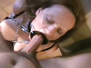 Full open mouth submissive