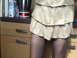 Skirt in kitchen