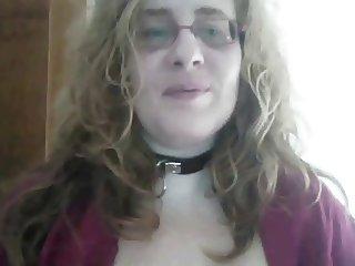 Redhead milfs pusnishes her nipples then masturbates