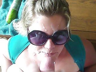 Cumming on my friend's wife