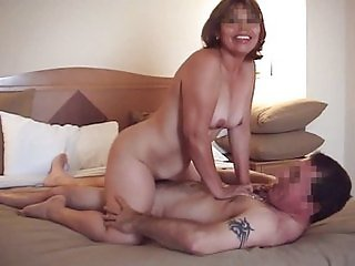 Wife riding a Friend  II