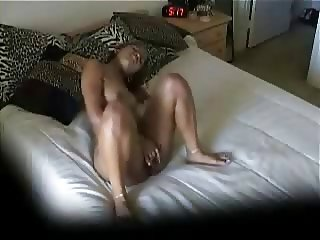 My lovely sister masturbating watching a porno. Hidden cam