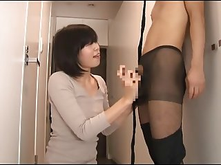 Fun With Japanese Pantyhose Babe