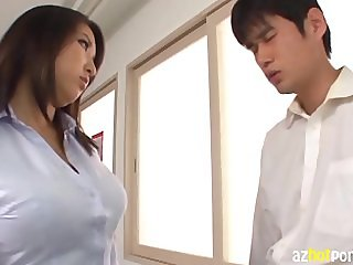 Naughty Busty Teacher Lesson