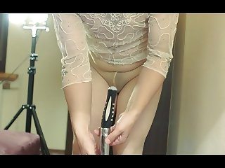 Pantyhose and anal 2
