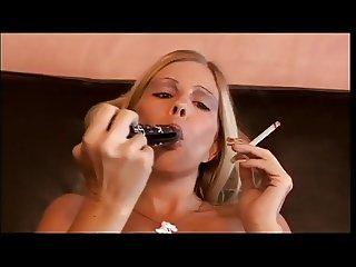 smoking pussy fun
