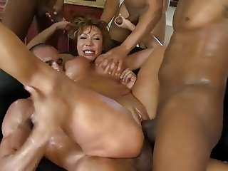 Brutal BDSM Double Penetration Gangbang! vol.65 By: FTW88