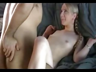 Blonde With Pigtails