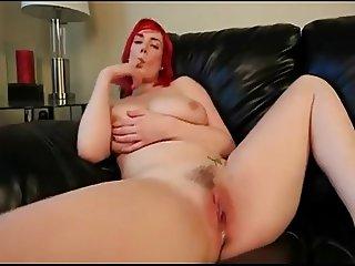 hot redhead creampie