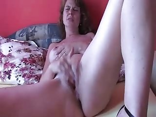 home alone mature masturbating